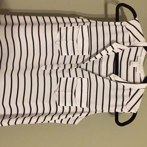 Forever 21 sleeveless stripe top